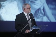 prowadzący galę Jacek Migasiński (Jury)