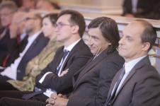 Od prawej: Bartosz Działoszyński, Jacek Dobrowolski, Piotr Kozak, Joanna Bednarek, Piotr Graczyk (finałowa piątka)