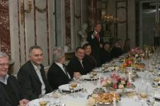17.11.2011 - podczas obiadu czwartkowego, w dniu powstania Fundacji; Muzeum Łazienki w Warszawie (fot. Łazienki)