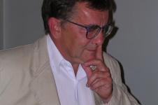 """Prezentacja """"Kwintetu metafizycznego"""", Pałac Staszica, 1 czerwca 2005 (Fot. Anton Marczyński)"""