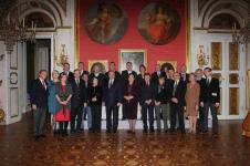 Obiad czwartkowy, 17 listopada 2011, Łazienki Królewskie. W obecności Prezydenta RP powstała Fundacja na Rzecz Myślenia im. Barbary Skargi