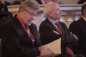 Od lewej: Lech Witkowski (Jury) i Tadeusz Szawiel (Jury)